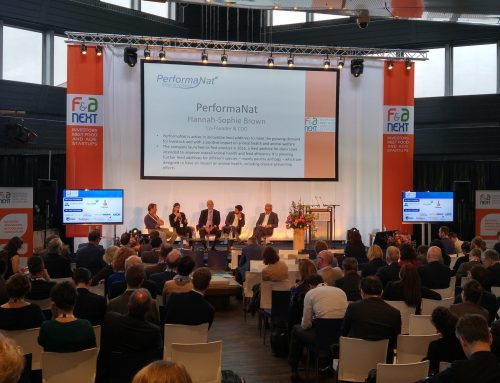 Podiumsdiskussion zu Innovationen in der Landwirtschaft bei der F&A Next in Wageningen