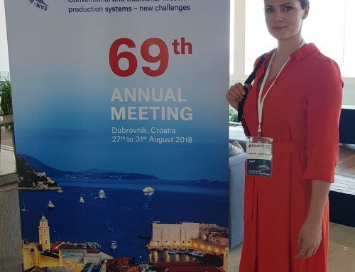 Hannah Braun presented new data at the European Federation of Animal Science