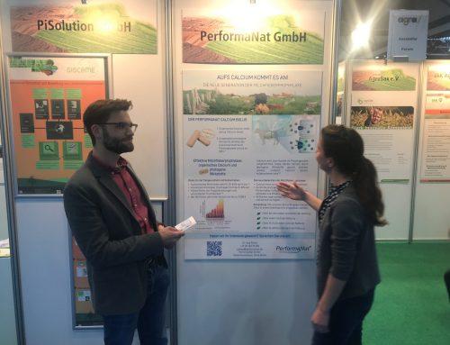 PerformaNat auf der agra – Landwirtschaftsausstellung in Mitteldeutschland